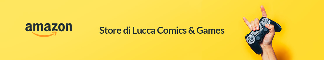 Amazon Store di Lucca Comics and Games